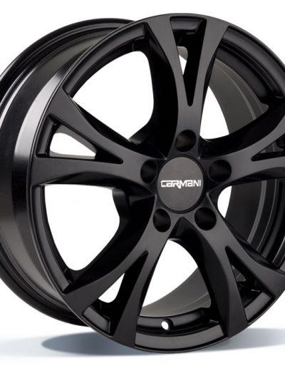 """Carmani CA9 Compete zwart mat 15"""" 16"""" 17"""" 18"""""""