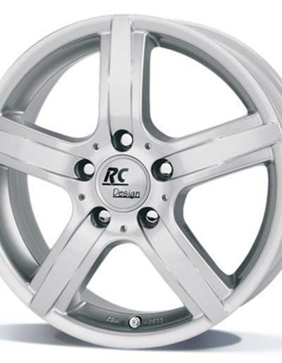 "RC DRIVE kristal zilver 14"" 15"" 16"" 17"""