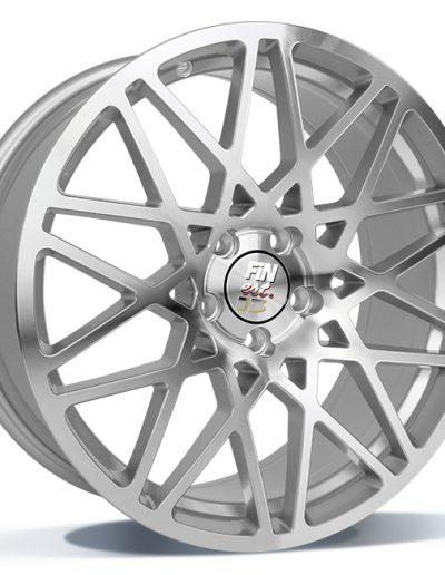 """Tomason Finest FN1 High Gloss zilver, gepolijst 18"""" 19"""""""