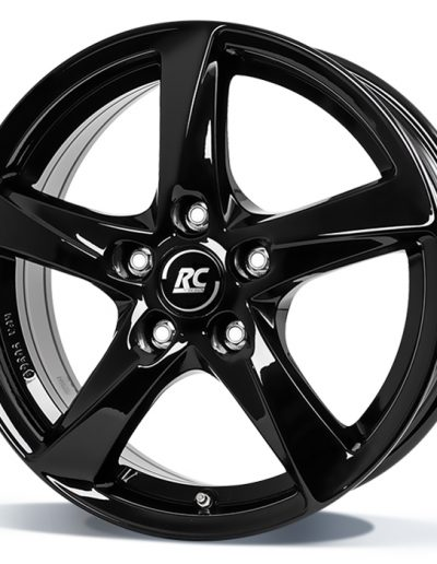 """RC30 zwart glanzend 14"""" 15"""" 16"""" 17"""" 18"""""""