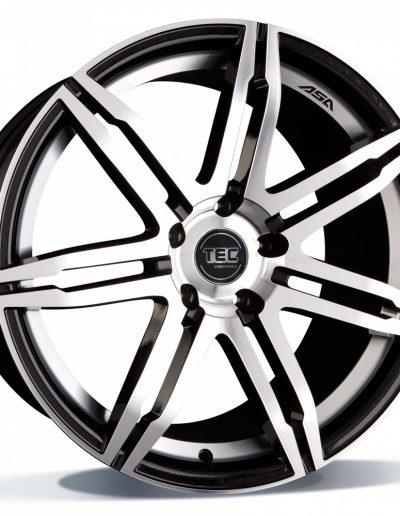 "TEC GT2 Black Polished 17"" 18"" 19"" 20"""