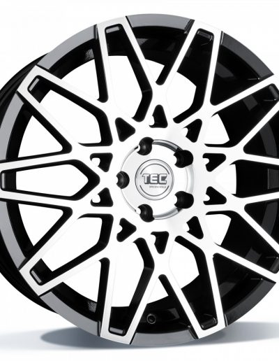 "TEC GT4 Glossy Black Polished 18"" 19"""