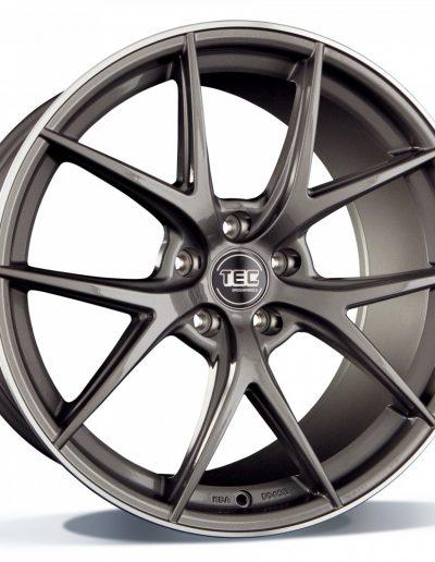 """TEC GT6 EVO dark-grey, rand gepolijst 18"""" 19"""" 20"""" 22"""""""