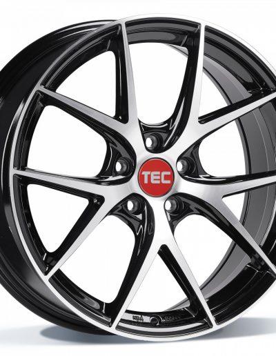 """TEC GT6 EVO zwart, front gepolijst 18"""" 19"""" 20"""" 22"""""""