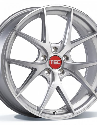 """TEC GT6 EVO zilver, front gepolijst 18"""" 19"""" 20"""" 22"""""""
