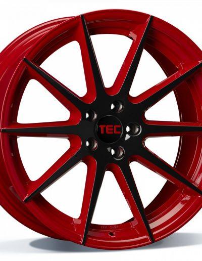 "TEC GT7 rood - zwart, 2-tone 19"" 20"""