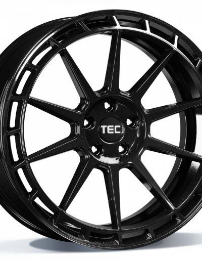 "TEC GT8 Glossy zwart, links 19"" 20"""