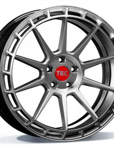 """TEC GT8 Hyper zilver, rechts 19"""" 20"""""""