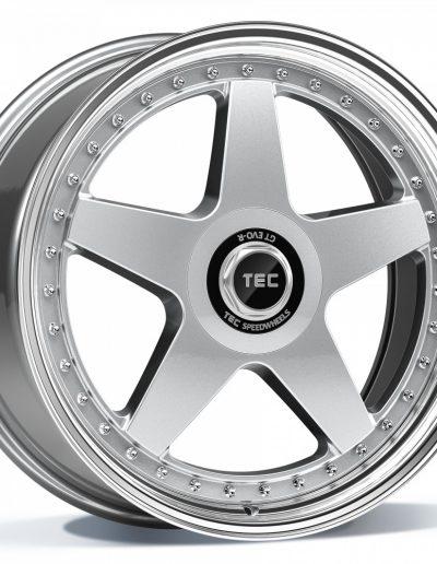 """TEC GT EVO-R zilver, gepolijste lip 18"""" 19"""" 20"""""""