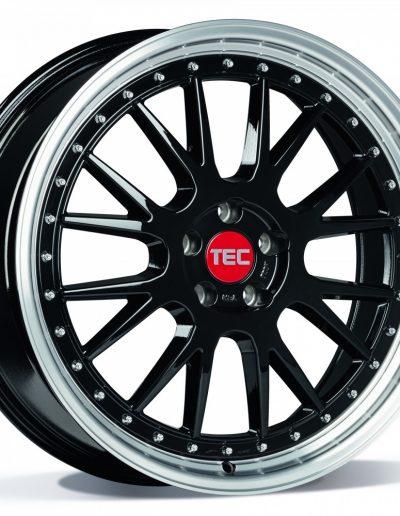 """TEC GT EVO zwart, gepolijste lip 18"""" 19"""" 20"""""""