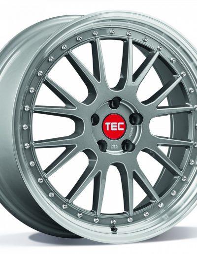 """TEC GT EVO Titan zilver, gepolijste lip 18"""" 19"""" 20"""""""