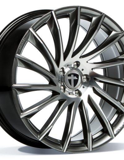 "Tomason TN16 Dark hyper black polished 17"" 18"" 19"" 20"" 22"""