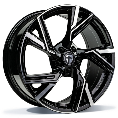 "Tomason AR1 Black Diamond Polished 18"" 19"" 20"" 21"" 22"""